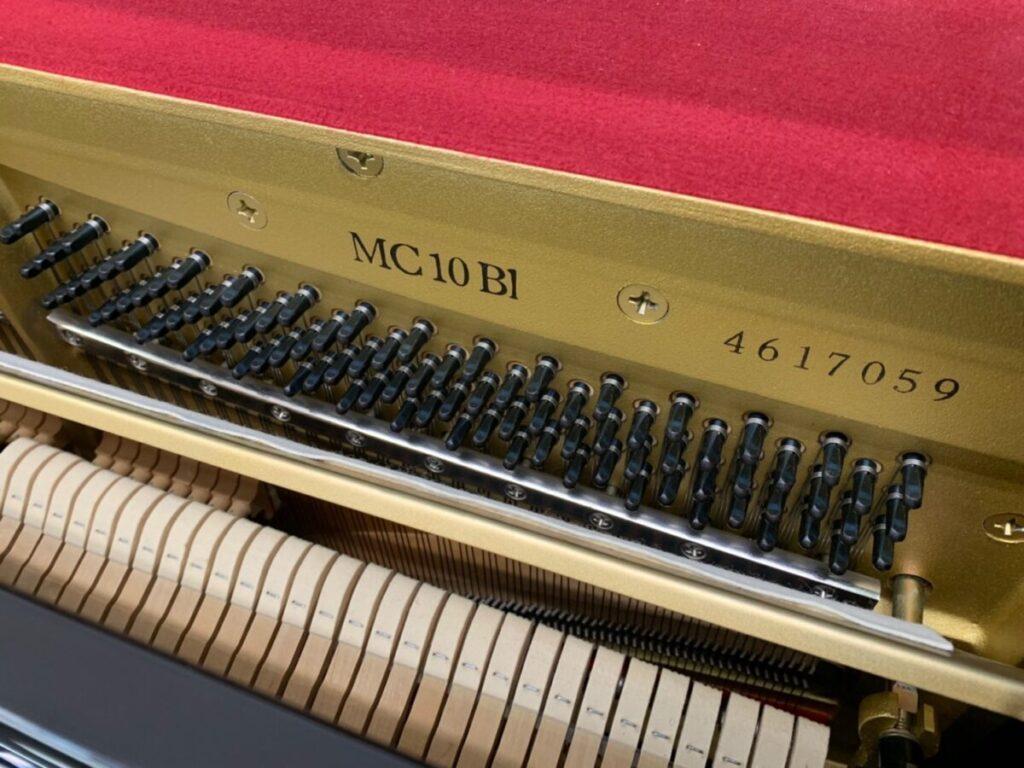 ヤマハ中古ピアノ MC10BL 西新潟店展示
